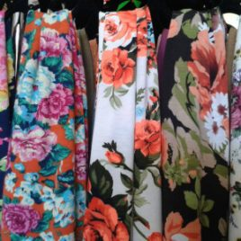 Floral Cotton Scarves