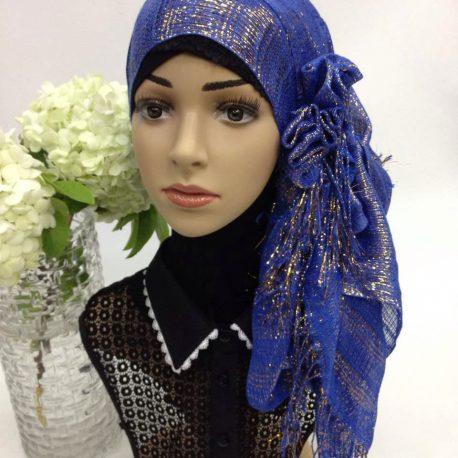purple-shiny-scarf