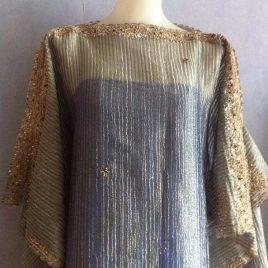 Shiny Metallic Kaftan