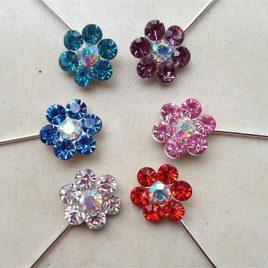 Flower Scarf Pins