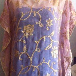 Gold Lilac Kaftan
