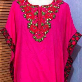 Embroidery Cotton Kaftan