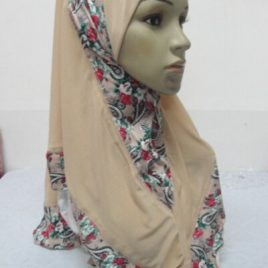Printed Pull On Hijab