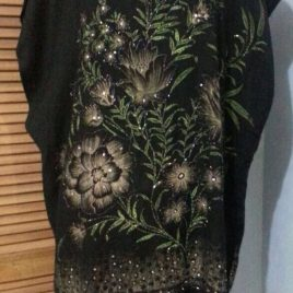 Night Flower Pashmina Tunic