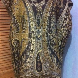 Gold Brown Pashmina Tunic