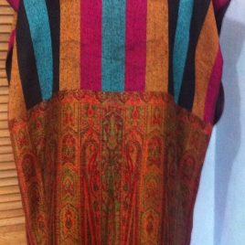 Striped Pashmina Tunic