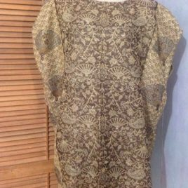 Gold Fan Pashmina Tunic