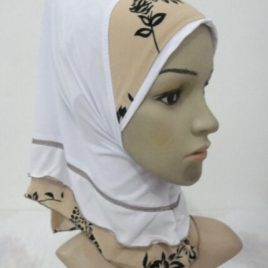 Small Girl's Flower Hijab