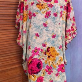 Rose Garden Kaftan Top