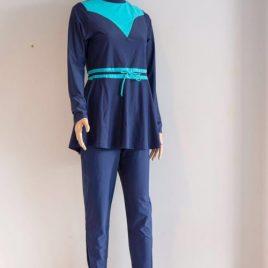 Women's Blue Swimming Suit