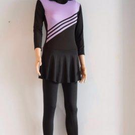 Girl's Purple Swimwear