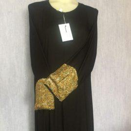 Gold Sleeve Abaya